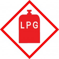 LPG Safety sticker