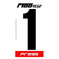 F100 Race Numbers
