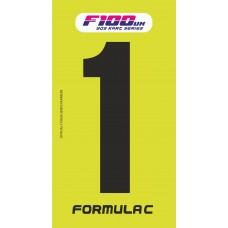 F100 Race Numbers 2021