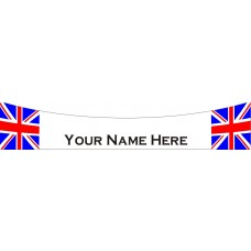 Union Jack personalised