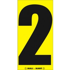 Kali Kart Race Numbers