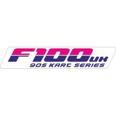 F100 Sticker 2018